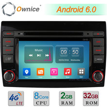 7″ Android 6.0 Octa Core 2GB RAM 32GB ROM 4G Wifi DAB Car DVD Radio Stereo Player For Fiat Bravo 2007 2008 2009 2010 2011 2012