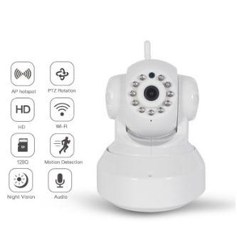 Wireless ip camera copertura Wi-Fi Smart camera Auto tracking di un essere umano video sorveglianza di Sicurezza domestica di sorveglianza di reteWireless ip camera copertura Wi-Fi Smart camera Auto tracking di un essere umano video sorveglianza di Sicurezza domestica di sorveglianza di rete