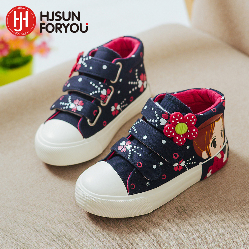 2019 primavera otoño niños zapatos de lona de moda para niñas - Zapatos de niños - foto 2