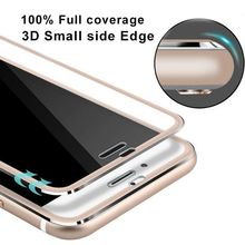 For 6S Aluminium alloy Full Cover Frame Screen Coverage Tempered Glass Screen Protector Replacement For Apple