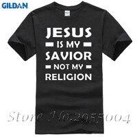 Yeni T Shirt İsa My Kurtarıcısı Değil Benim Din Olduğunu hıristiyan Dini Allah Namaz T Gömlek Tişörtleri Pamuk Kısa Kollu t-shirt