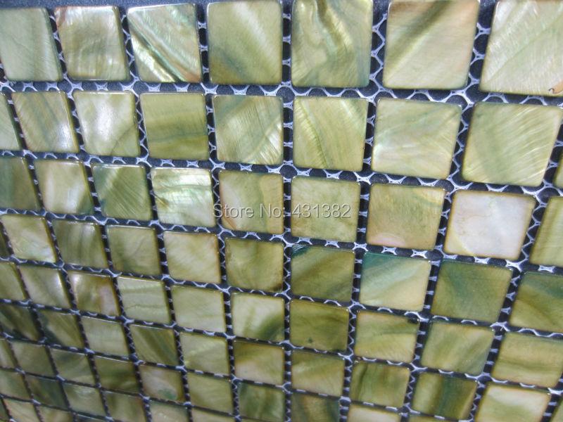Groene Wandtegels Keuken : Stks groene mozaïek tegels parelmoer tegels innerlijke muur