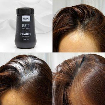 8g Unisex lakier do włosów Best Dust It proszek do włosów matujący proszek sfinalizuj stylizacja włosów żel do stylizacji włosów tanie i dobre opinie sevich Pomady i woski Hair Powder Mattifying Powder