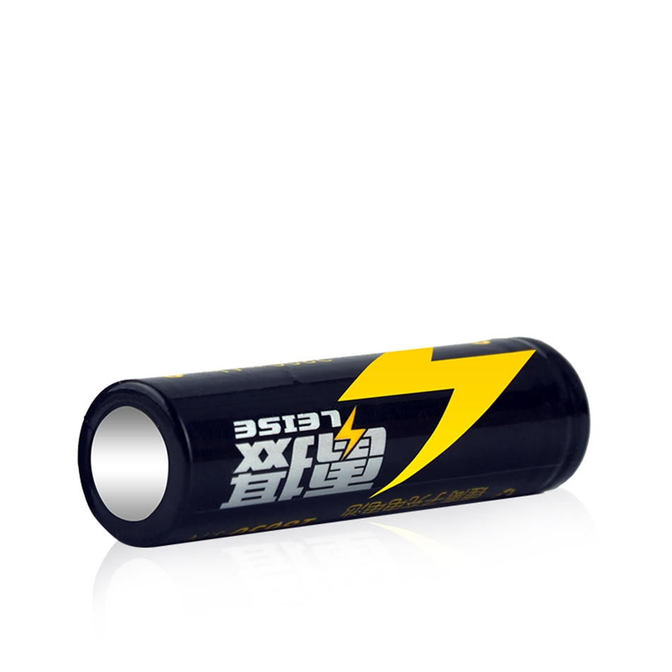 Leise Original 18650 Rechargeable Battery 3 7v Real High Capacity 2800mah Li ion Lithium For Flashlight headlight batteria in Rechargeable Batteries from Consumer Electronics