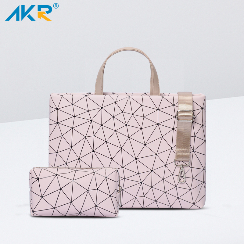 Bag Shoulder-Bag Laptop Geometric-Case PU for 11-12-13-14--15.6-Air/pro