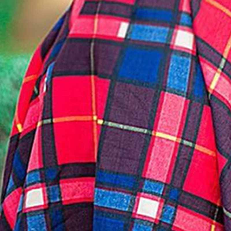 Винтажное клетчатое Африканское Платье женское стильное офисное повседневное летнее красное уличное пояс с высокой талией тонкое женское ТРАПЕЦИЕВИДНОЕ Ретро миди платье