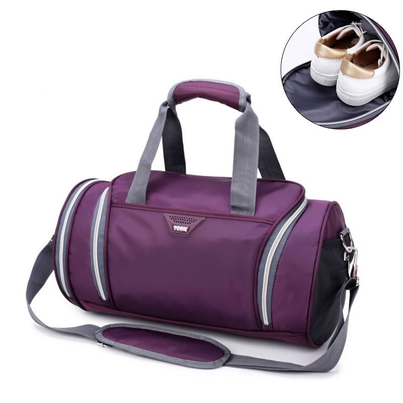 Waterproof Trave Handbag Canvas Sport Bags Shoulder Crossbody Bags For Women Men Luggage Suitcase Casual Outdoor Gym Bag Large