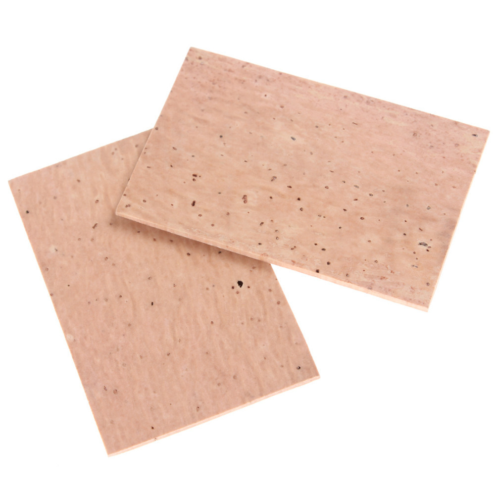 2pcs 61 X 39 X 2mm High Quality Professional Natural Sax Neck Cork Sheet Suitable For Soprano /Tenor/ Alto Saxophone