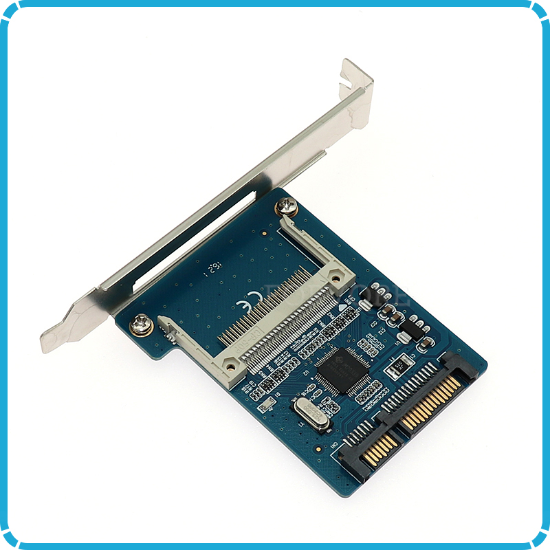 "1,8 ""cf Zu Sata 22pin Konverter Compact Flash Merory Karte Zu 2,5 Sata Serial Ata 7 + 15pin Adapter Für Embedded Industrielle Pc Senility VerzöGern"