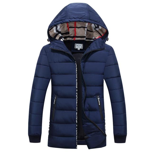 Venda quente 2016 de inverno dos homens grossas de inverno quente para baixo casaco de pele colarinho homens Ganso marca para baixo casaco jaqueta parka grandes metros de comprimento parka