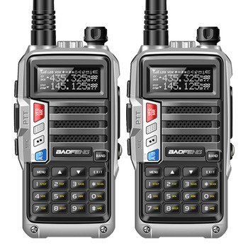 2PCS BaoFeng UV-S9 Powerful Walkie Talkie CB Radio Transceiver 8W 10km Long Range Portable Radio set for hunt forest&city