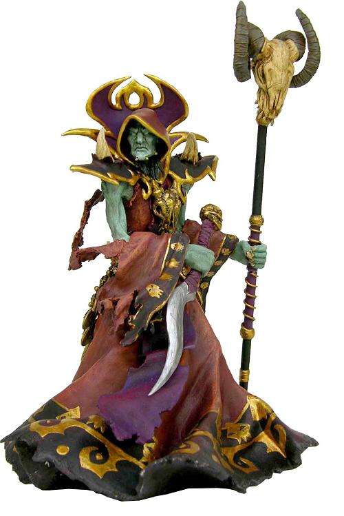 21cm Undead Warlock Action Figure 1/8 scale painted figure Windrunner Doll PVC ACGN figure Garage Kit Toys Brinquedos Anime anime one piece dracula mihawk model garage kit pvc action figure classic collection toy doll