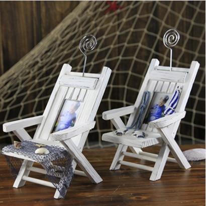 beach chair photo frame antique morris rocker recliner mediterranean style wooden mini namecard phone holder household ornaments home decoration on aliexpress com alibaba group