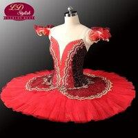 10pcs Red Paquita Classical Professional Ballet Tutus LD0014 Royal Professional Ballet Tutu Black Ballet Tutu Dancewear