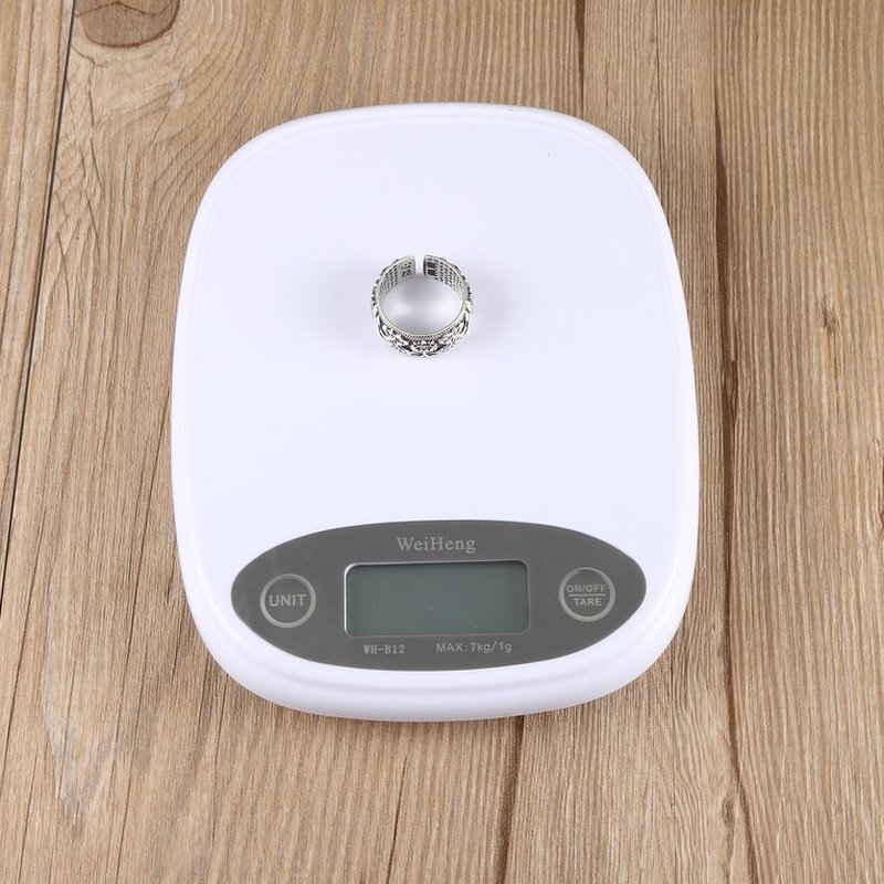 SEESII WH-B12 Mini 7000g x 1g LCD Digital Electronic Kitchen Pocket Scale For Outdoors