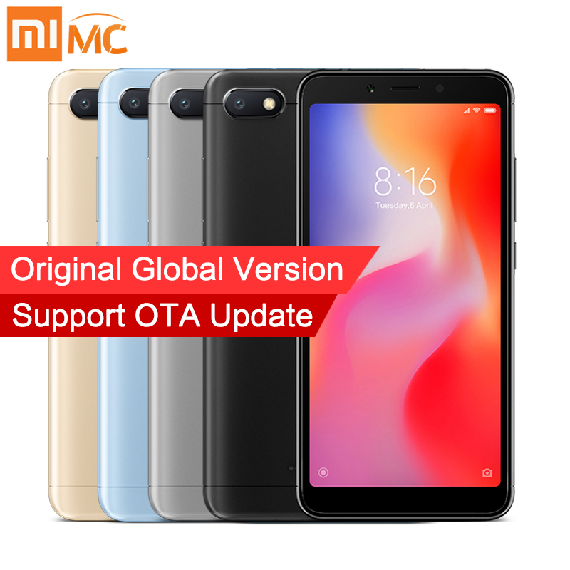 In Stock Global Version Xiaomi Redmi 6A 2GB 16GB Smartphone MTK Helio A22 Quad Core 545 189 Full Screen 13MP Camera Android 8-in Mobile Phones from Cellphones  Telecommunications on Aliexpresscom  Alibaba Group