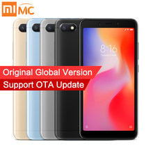 "In Stock Global Version Xiaomi Redmi 6A 2GB 16GB Smartphone MTK Helio A22 Quad Core 5.45"" 18:9 Full Screen 13MP Camera Android 8(China)"