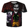 3D funny print Suicide Squad Joker t shirt for men/women short sleeve summer tops tee shirts