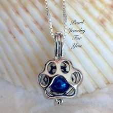 1pcs Silver colors  Necklace Dog Paw Print Cat Dog Pet Animal Lover Pendant Necklace Chain Jewelry Gift color random