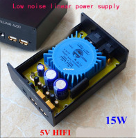 5V USB 15W DC port dual output linear power supply DC voltage regulator CAS XMOS raspberry