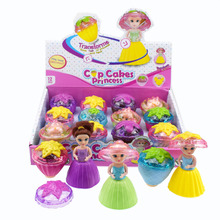 24pcs/lot Novelty Cups Transformation to Girls Doll Deformation Cupcakes Princess Toy for Gilrs Gift Wholesale