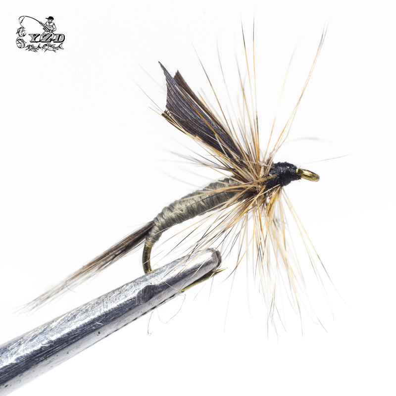 Classic 24 PCS Dry Flies Fly Fishing Set For Trout Salmon Pheasant - Fishing