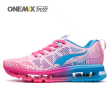 onemix women's running shoes outdoor walking shoes athletic sneaker sport Air mesh free run light breathable