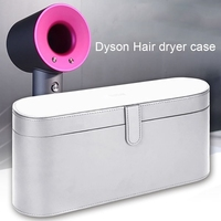 Bubm For Dyson Supersonic Hair Dryer Hard Case,Magnetic Flip Anti Scratch Organizer Travel Gift Case For Dyson Supersonic Hair