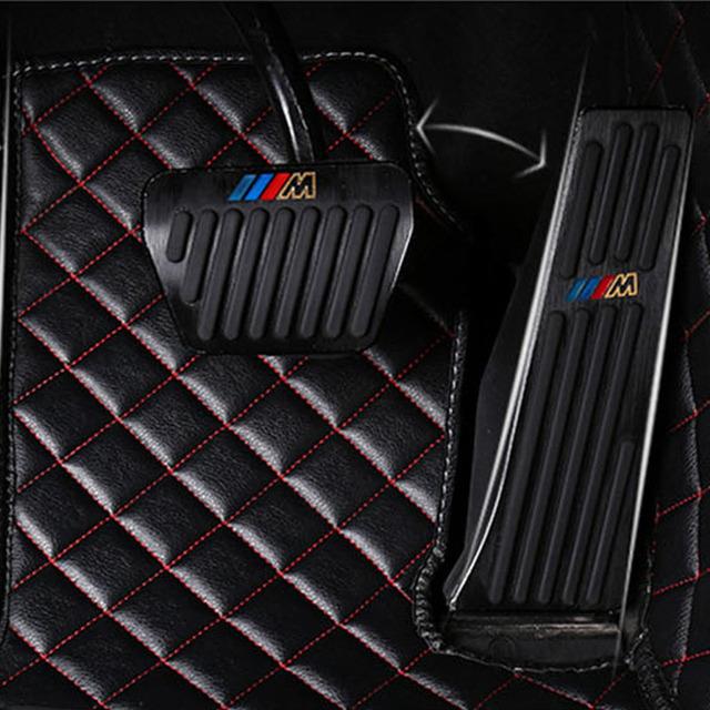 Alfombrilla de pie para coche Auto cree para Dodge viaje calibre Avenger Challenger cargador impermeable accesorios de coche