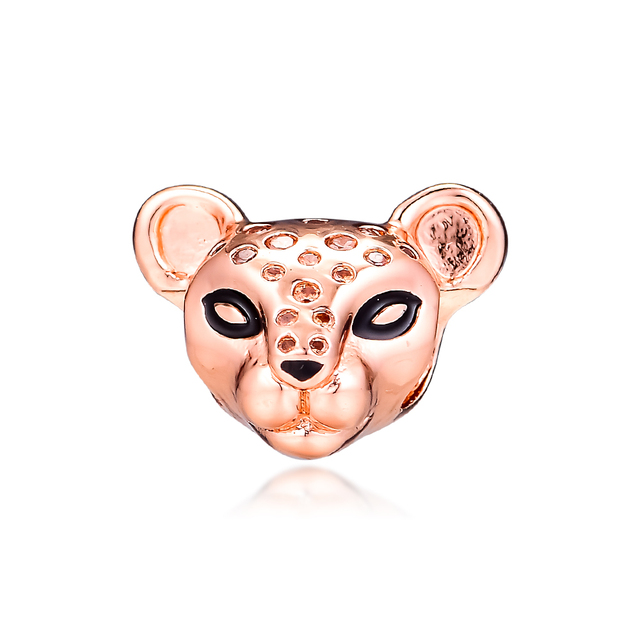 Fits Pandora Charms Bracelet Sparkling Lion Princess Charm 100% 925 Sterling Silver Original Europe Beads for Jewelry Making