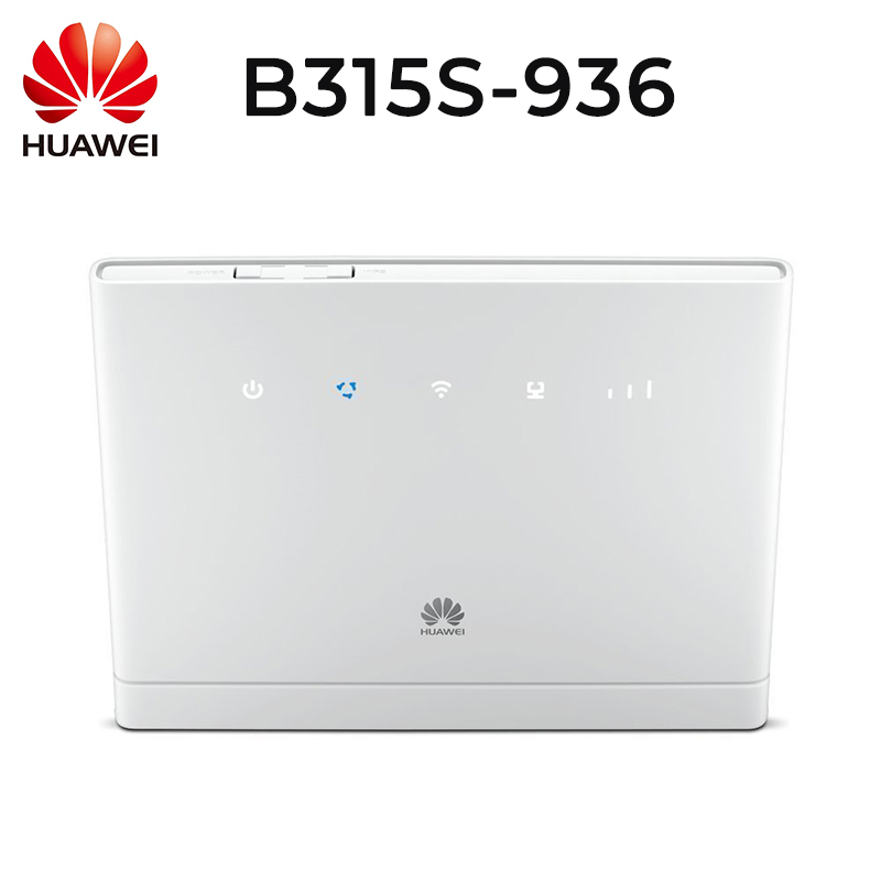 Unlock Huawei B315s 936 Unlocked 4G LTE CPE 150 Mbps Mobile Wi Fi Router 4G Band