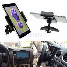 For GPS Tablet iPad Mini 7 iPhone 6 Adjustable Car CD Slot Mount Holder Stand