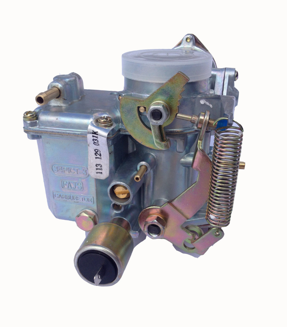 Partol Car Carburetor EMPI 34 PICT-3 Electric Choke Fuel Cutoff Valve For Volkswagen Super Beetle Thing Karmann Ghia Squareback new carburetor for vw volkswagen beetle ghia transporter 34pict