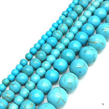 3/4/5/6/8/10/12mm 150/100/65/50/30/20pcs Hot Beads Round Green Color Space Beads For Necklace Bracelet Jewelry Making Wholesale(China)