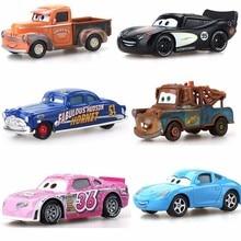 Disney Pixar Cars 2 34 Style Lightning Mcqueen Mater 1:55 Diecast Metal Alloy Model Car Birthday Gift Toys For Children Boys