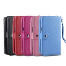 Multifunction Phones PU Leather Wristlet Cash Clutch Wallet Card Slot Case Cover For Various Models Pouch Bag Protection Skins недорого