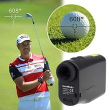 Free shipping! 600m Solar Laser Rangefinder Waterproof Measure Distance Speed for Hunting Golf