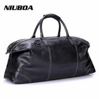 New Arrival Men Travel Bags Multifunction Men 100 Genuine Leather Travel Bag Big Capacity Handbag Man