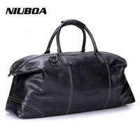 New Arrival Men Travel Bags Multifunction Men 100 Genuine Leather Travel Bag Big Capacity Handbag Man
