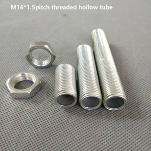 Hollow-Tube Lighting-Accessories Threaded-Rod Whole M16 10pieces/Lot Metric DIY 20-500mm