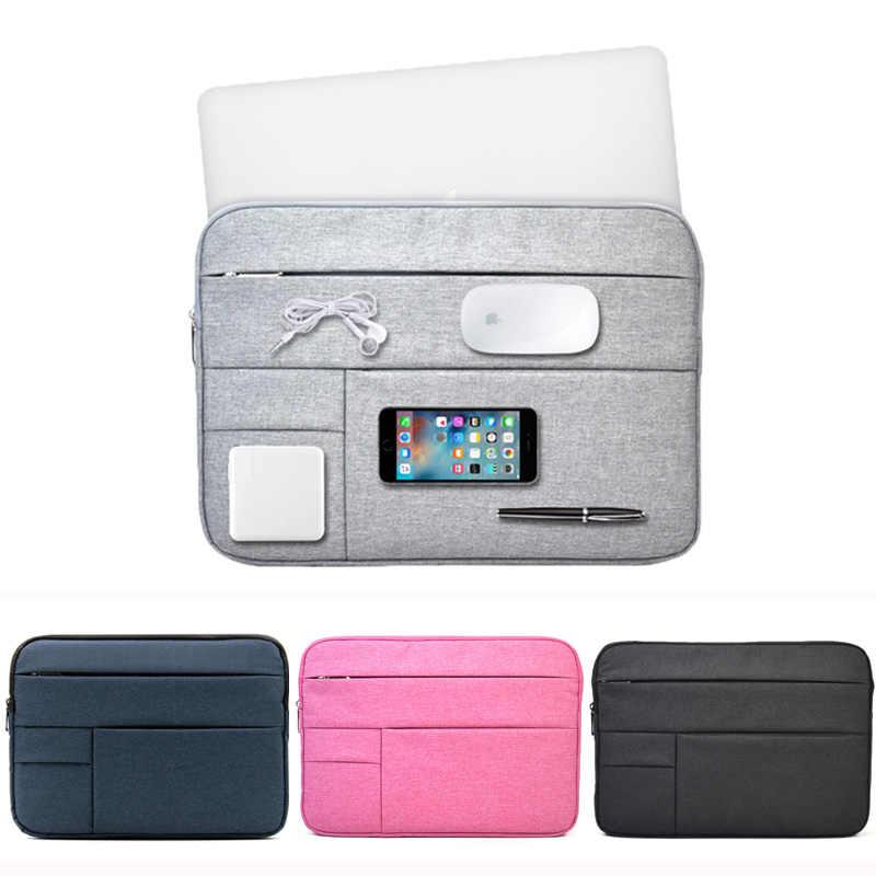 צמר הרגיש ללבוש עמיד פאוץ תיק שרוול נייד Ultrabook 11 12 13 14 15 inch מקרה עבור apple macbook air 11 pro13 reitina 15