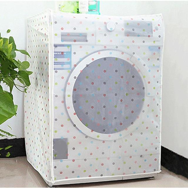 acheter antipoussi re peva couvercle de machine laver tanche couverture pour. Black Bedroom Furniture Sets. Home Design Ideas