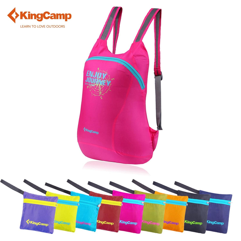 KingCamp Women Sport bag 12L Climbing bag foldable Waterproof travel bag Hiking backpacks Ultralight Sports backpack