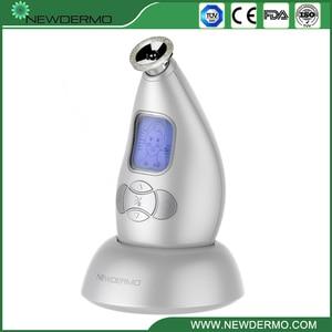 Image 4 - Argento NEWDERMO Pro Microdermoabrasione Personale Microderm Viso Dispositivo 3.7V Massaggio di Cura Della Pelle di Bellezza di TRASPORTO LIBERO