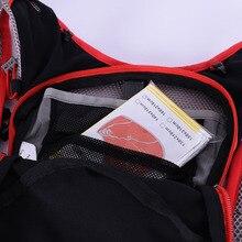 AONIJIE 5L Running Backpack Kettle Package Marathon Cycling Bags Running Vest Kettle Sport Bag Waterproof Nylon Bag