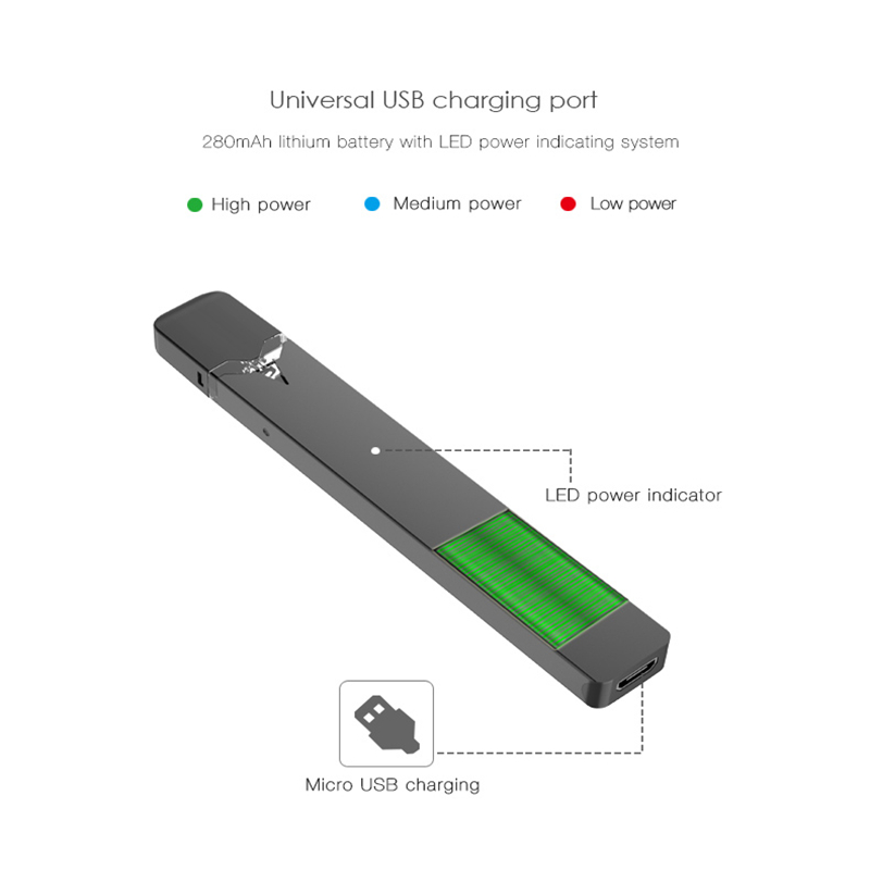 Vape Pen Kit OVNS W01 Pod System Original Electronic Cigarette 280mAh  Battery 0 7ml Pod For JUUL Vaporizer VS Caliburn Kit
