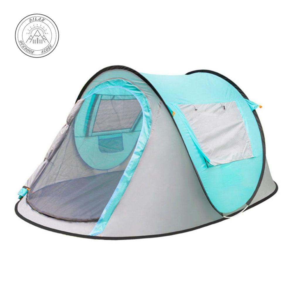 Carpas de campingTent extérieur 3-4 personnes entièrement automatique camping tente camping camping tente barraca carpas eventos extérieur voiture tente tenda