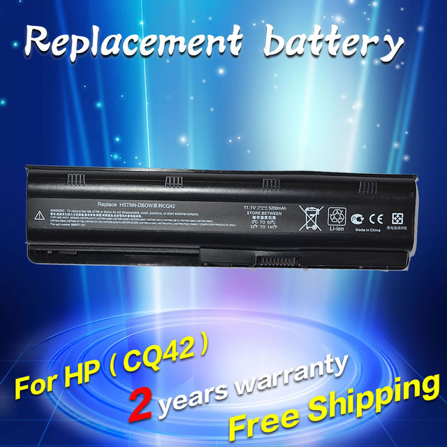JIGU battery for HP Compaq MU06 MU09 CQ42 CQ32 G62 G72 G42 G72 G4 G6 G7 593553-001 DM4 Battery