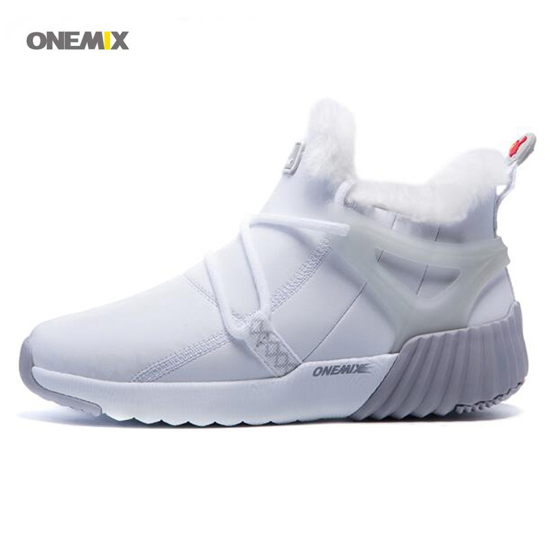 2017 Women's Winter Running Shoes Outdoor Sport Warm Wool Sneakers Male Athletic Shoes zapatos de hombre Men jogging shoes 1205