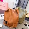 Mickey Minnie Bucket Women Messenger Bags Leather Handbags Ladies Clutch Bag Bolsa Feminina Bolsas Female Handbag